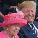 جنجالی شدن شیوه دست دادن برخورد ترامپ با ملکه انگلیس و اظهار نظر زشت او درباره مگان مارکل!