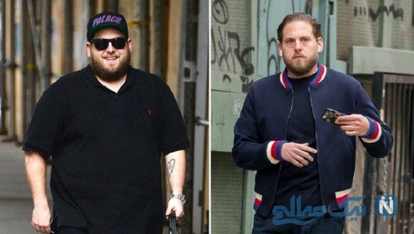 قبل و بعد از کاهش وزن