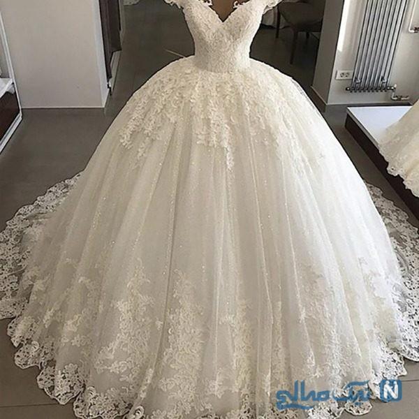 مدل لباس عروس جدید و زیبا برای یک شب به یاد ماندنی