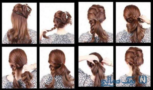 مدل مو دخترانه مجلسی ساده