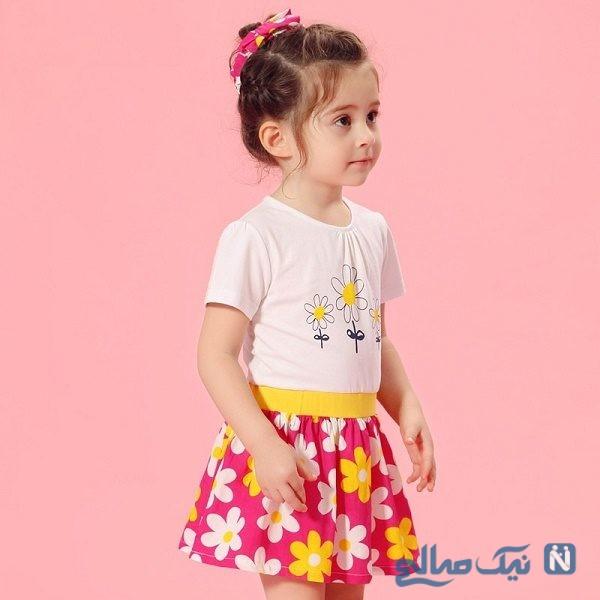 مدل پیراهن تابستانی دختر بچه ها ، زیبا و شیک مخصوص هوای گرم