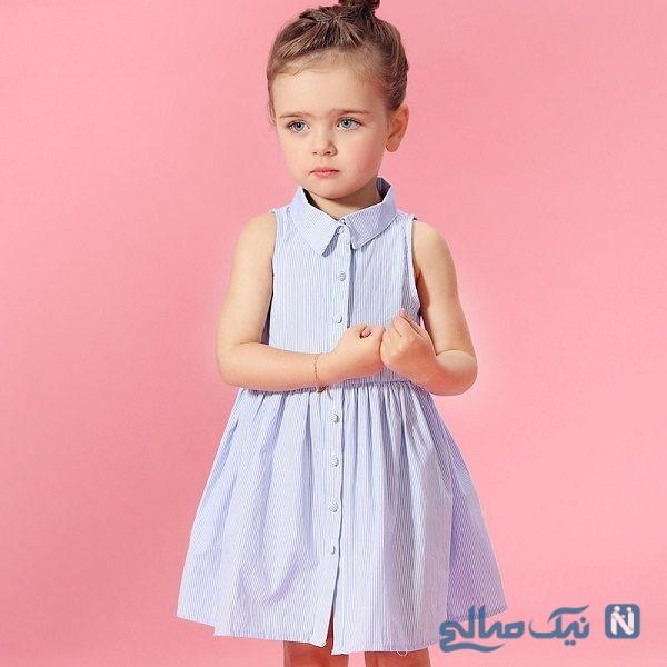 مدل پیراهن تابستانی دختر بچه ها