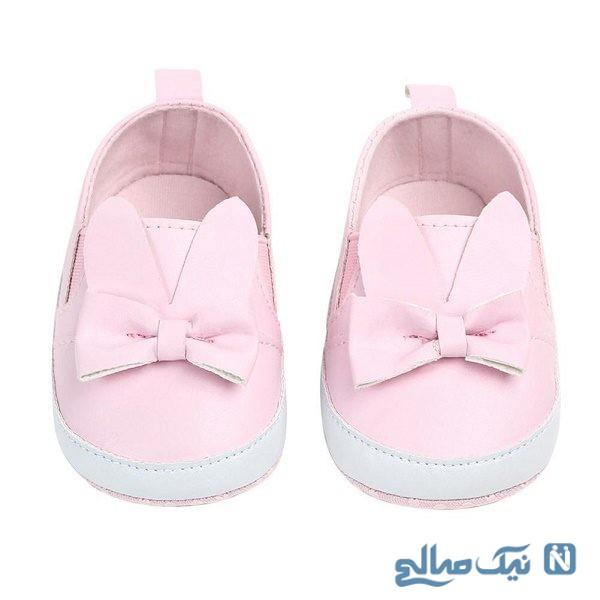کفش نوزادی دخترانه مجلسی