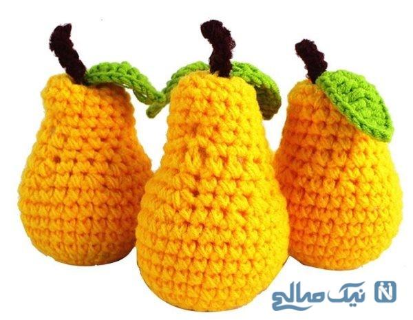میوه های بافتنی
