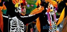 جشن مردگان در مکزیک عجیب و متفاوت
