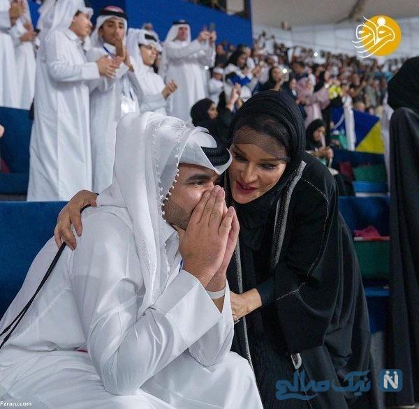 مادر امیر قطر