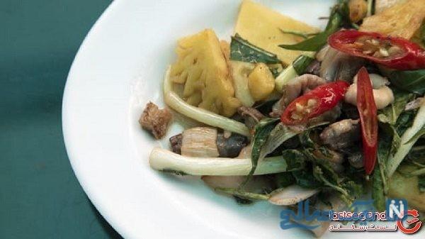 غذا با گوشت مار