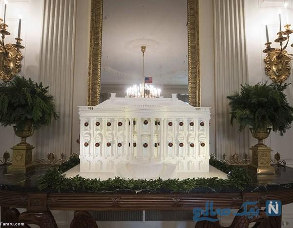 تزئینات کریسمس کاخ سفید