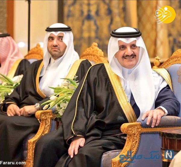 ازدواج شاهزاده عربستان