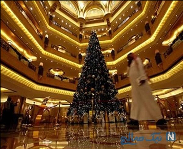 گرانترین درخت کریسمس جهان