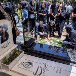 مراسم تدفین مجید نائینی از پیشکسوتان باشگاه پرسپولیس