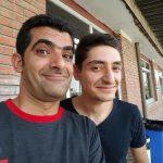 مهدی شاه حسینی یکی از عوامل خندوانه در کنار همسر و دخترش!