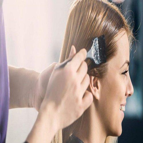 خانمها موهایشان را کمتر رنگ کنند