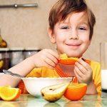 صبحانه رمز سلامتی کودکان