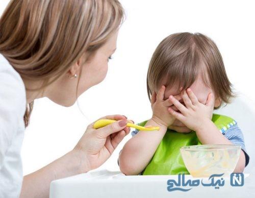غذا دادن به کودک