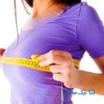 اهمیت سایز سینه در خانم ها