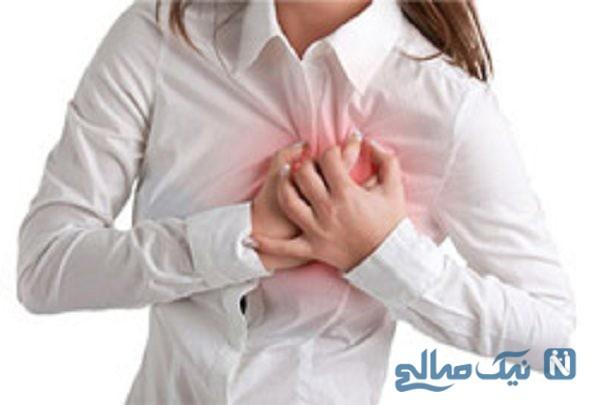 علت درد سینه