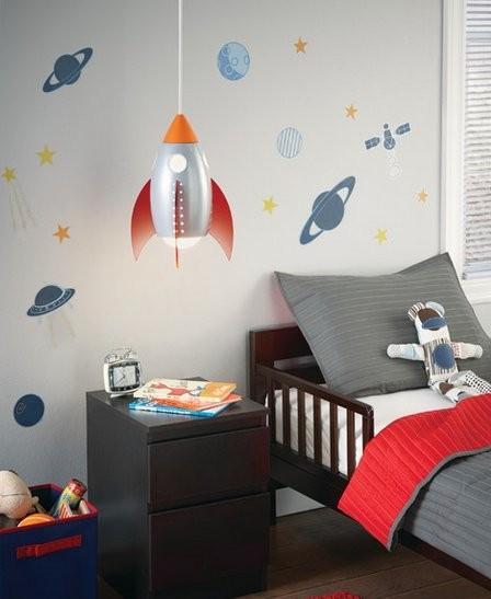 نورپردازی در دکوراسیون اتاق کودک +تصاویر