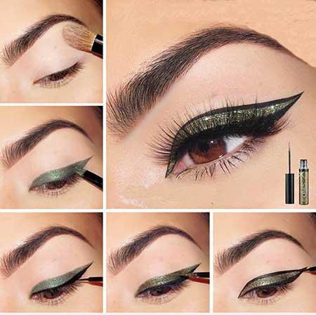 خط چشم متفاوت و زیبا برای داشتن چشمهای جذاب!+عکس