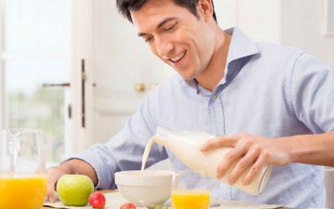 رژیم غذایی سالم برای شادابی مردان