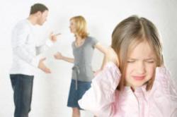 جلوی کودکانتان دعوا نکنید!