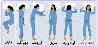 ارتباط شخصیت و طرز خوابیدن! +عکس