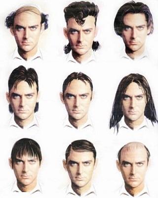 مدل مو مردانه ایرانی قدیمی