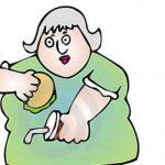چاقی شکمی در زنان بر اثر این عوامل بوجود می آید