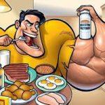 غذاهای عضله ساز برای مردان