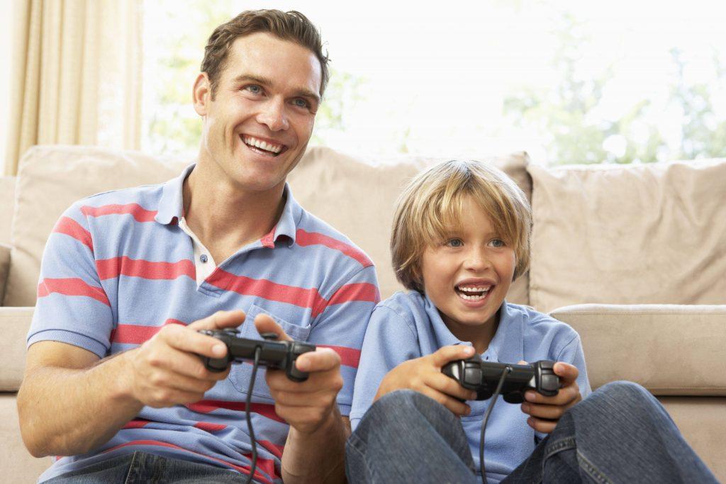تعاملات رفتاری مثبت پدر با کودک