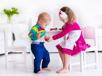 کنجکاوی کودکان در مورد اعضای بدن