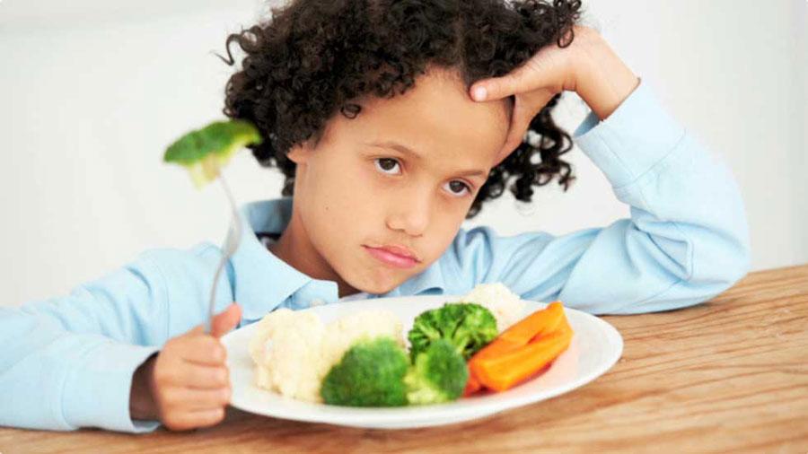بد غذایی کودکان