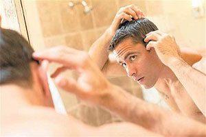 از علائم ابتلا به بیماری های قلبی مردان، ریزش موی آن هاست