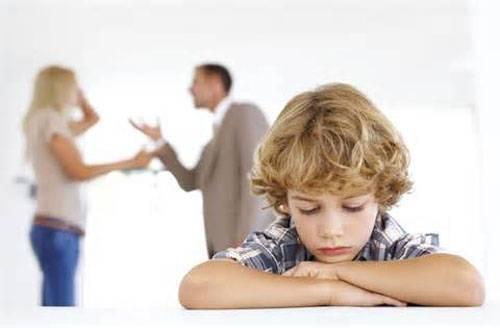 مشکلات فرزندان طلاق