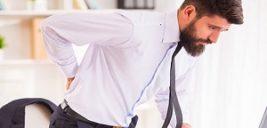بررسی علل و درمان کمر درد در مردان