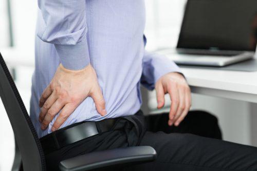 کمر درد در مردان