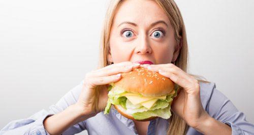 علت گرسنگی در زنان