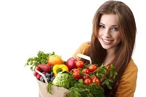 خوراکیهای مورد نیاز خانمها نسبت به آقایان