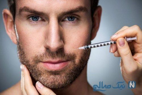 تزریق بوتاکس در مردان