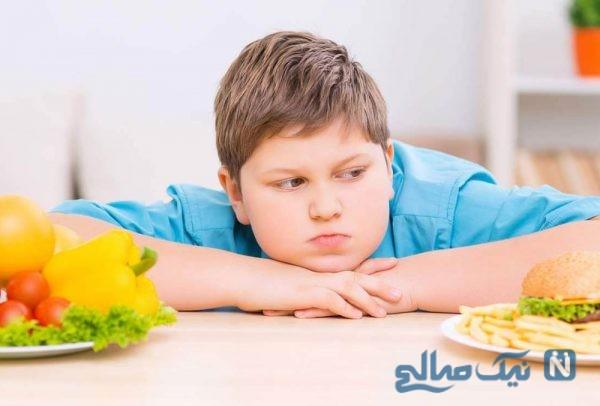 دلیل افزایش چاقی در کودکان و نوجوانان