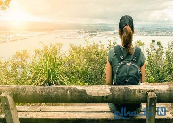 تنها مسافرت رفتن زن