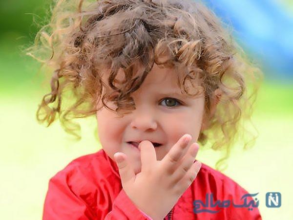 جویدن ناخن توسط کودکان