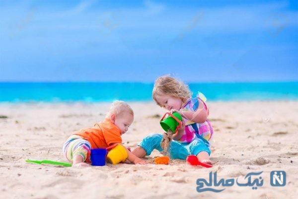آشنایی با فواید شن بازی برای کودکان