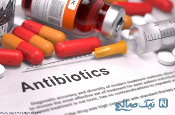 خطرات مصرف آنتی بیوتیک در زنان در طولانی مدت