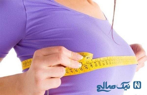 سایز سینه زنان