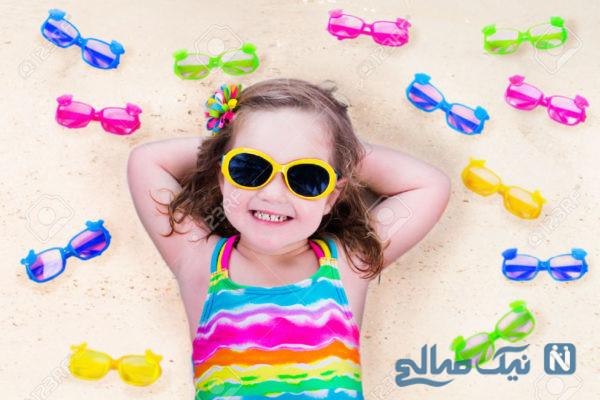 اهمیت استفاده از عینک آفتابی برای کودکان