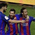 تیم بارسلونا مقتدرانه فاتح جام حذفی باشگاه های اسپانیا شد