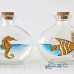 کاردستی شیشه – مدل تزیین با شیشه + تصاویر