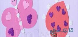 ساخت کاردستی با الگوی قلب + تصاویر