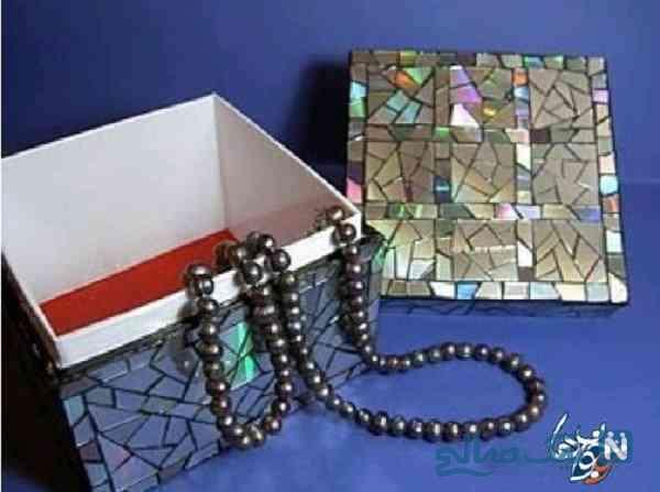 جعبه جواهرات با سی دی